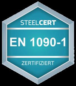 Steelcert Zertifikat